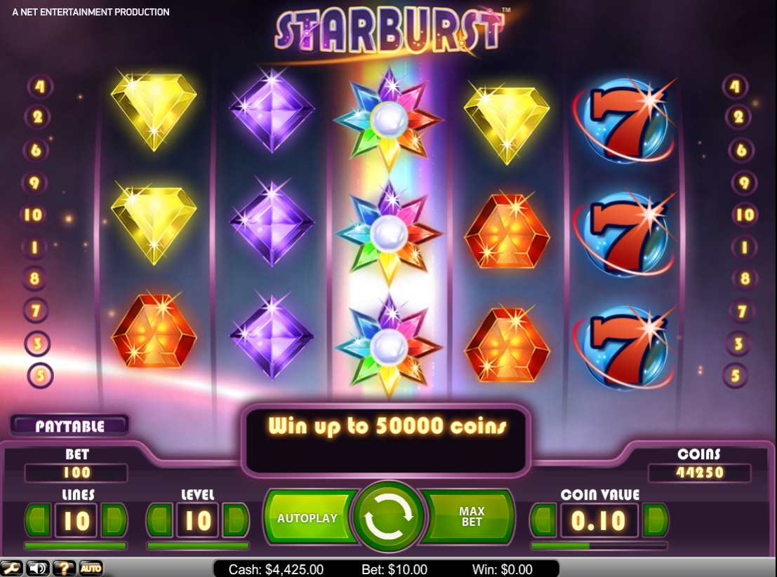 Win Big Playing Starburst At Bet365 Vegas With Our Detailed