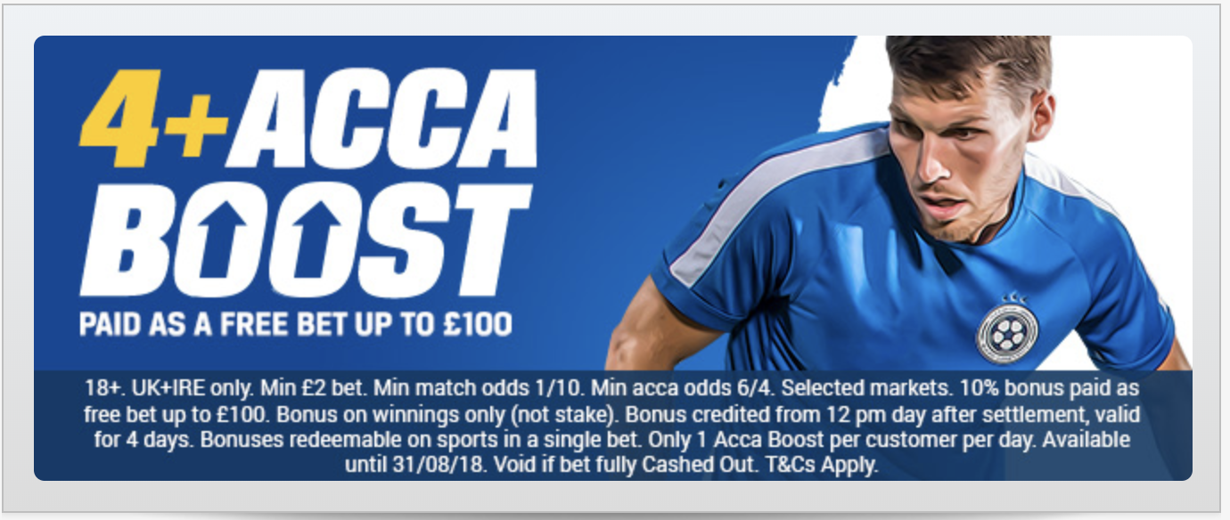 free single bet of the day